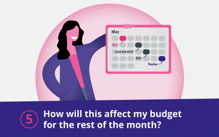 How will this affect my budget for the rest of the month?